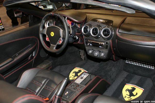 Voiture de sport derniers ajouts ferrari f430 interieur for Interieur de voiture