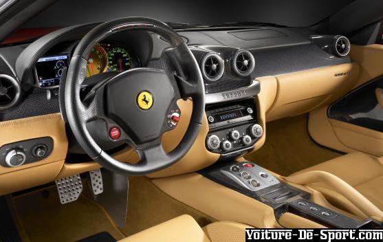 voiture de sport derniers ajouts ferrari 599 gtb fiorano interieur. Black Bedroom Furniture Sets. Home Design Ideas