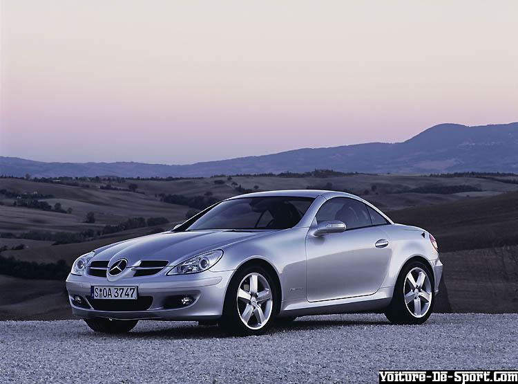 voiture de sport slk mercedes slk. Black Bedroom Furniture Sets. Home Design Ideas