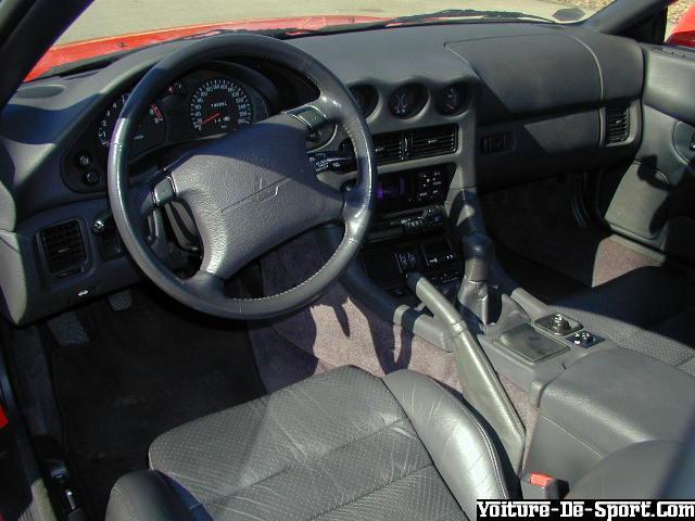 voiture de sport 3000 gt mitsubishi 3000gt rouge interieur 2. Black Bedroom Furniture Sets. Home Design Ideas