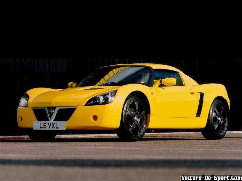 Voiture De Sport Speedster Opel Speedster Jaune