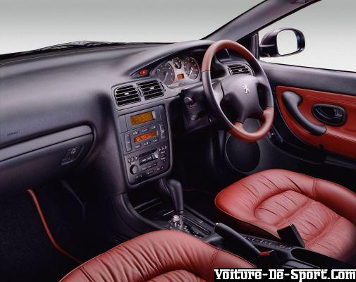 Voiture de sport 406 coupe peugeot coupe v6 interieur for Interieur 406