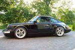 Voiture De Sport 964 Porsche 964 Noire
